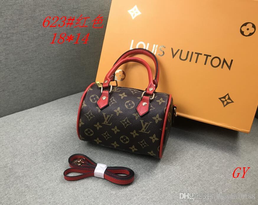 2020 del sacchetto delle donne dei sacchetti di cuoio delle donne modo di alta qualità borsa a tracolla trapuntata doppio borse catena borsa Portafoglio dorp spedizione A95