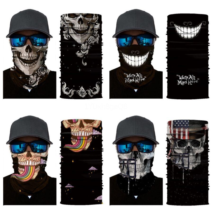 Filtresi oluşturmak # 845 ile GIeZ0 Bisiklet Sihirli Headskull Eşarp Bandana Spor Maskeler Baş Eşarplar Windproof FashionFlag Camouflag Yüz Maskesi
