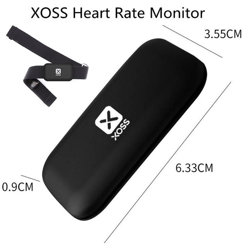 sensor de Xoss monitor de freqüência cardíaca no peito strap bluetooth4.0 formiga + / bluetooth única frequência cardíaca cycling correndo HRM com cinta