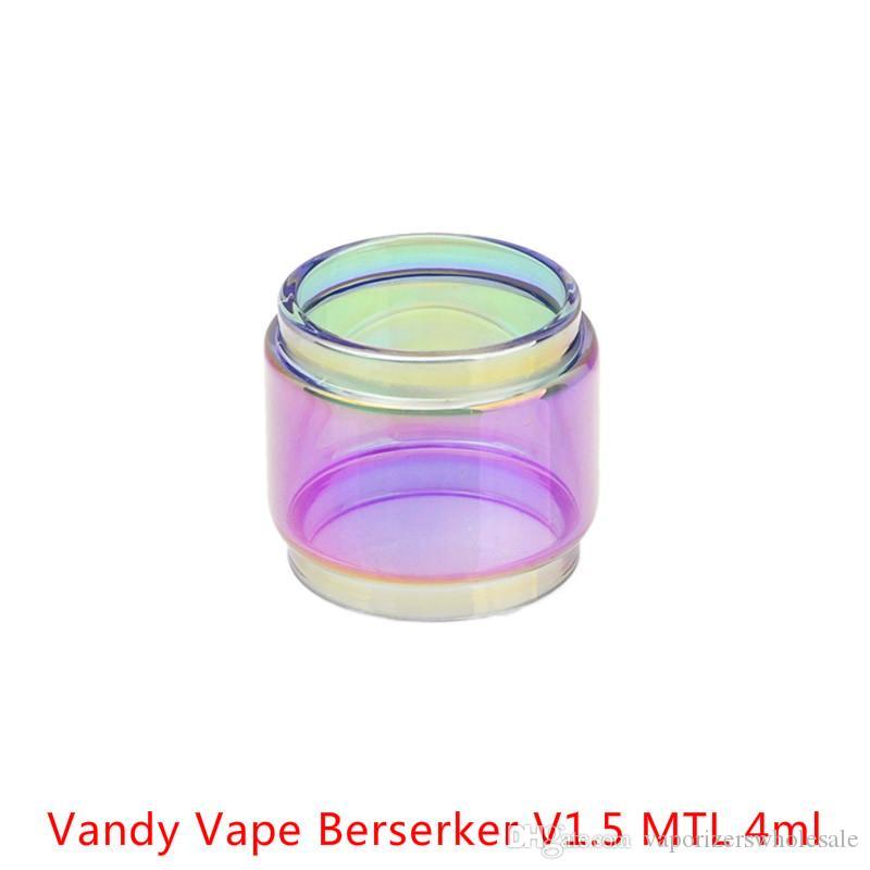 Оптовая Ванди Вапе Берсерк В1.5 МТЛ 4мл пузыря расширение Радужного стекла DHL купить Ванди Вапе Берсерк В1.5 МТЛ 4мл толстячок лампы стеклянная трубка
