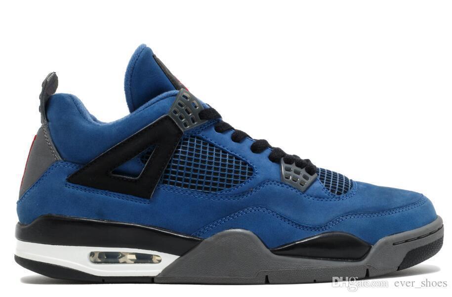 Nuevo 4 Eminem Encore Pure Money Cemento blanco Royalty Criado Toro Bravo Thunder Green Glow Shoes 4s Zapatillas de baloncesto para hombre zapatos