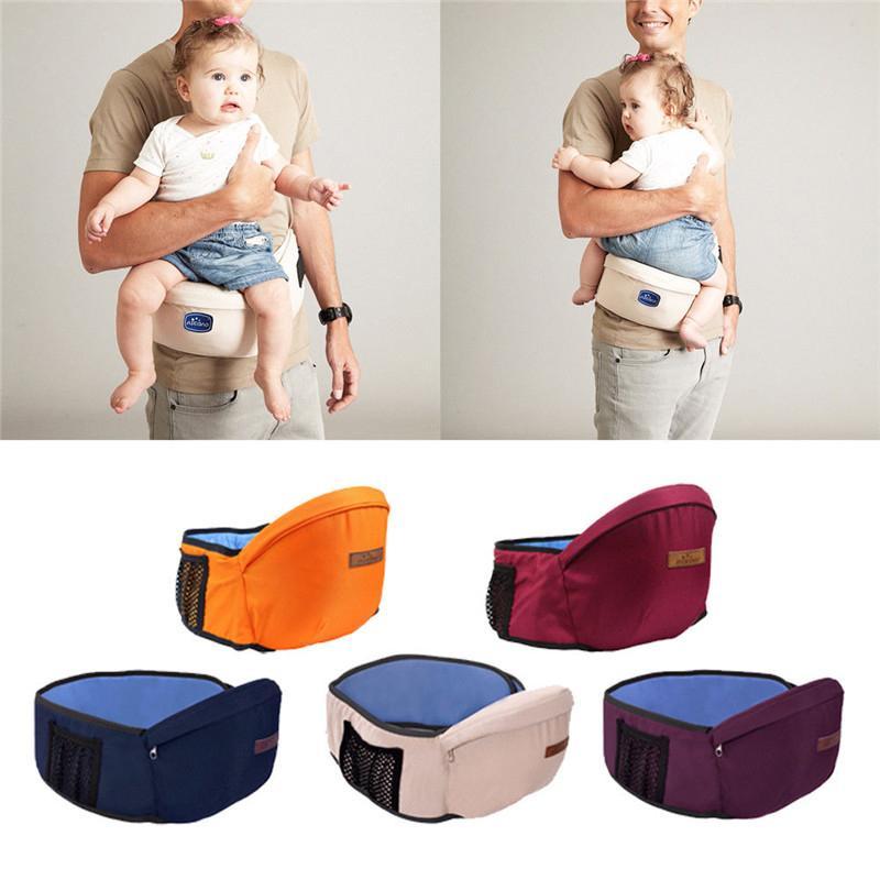 Baby Carrier cintura Stool Walkers Baby Sling Reter assento cinto Backpack Hipseat Belt crianças infantil Hip