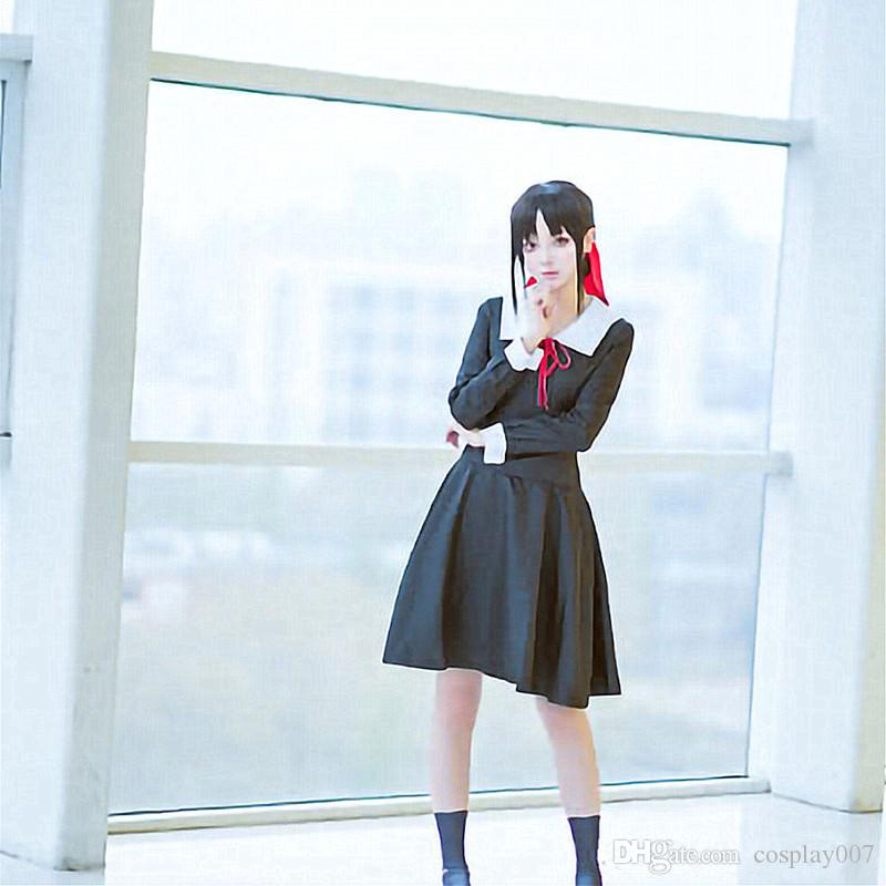 Kaguya Shinomiya cosplay trajes de manga Curta vestido de anime Japonês Kaguya-sama: O amor é roupas de Guerra trajes de Halloween fornecimento local