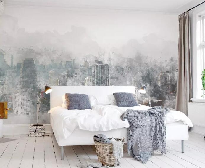 [Auto-adhésif] 3D peint Ville WG0957 mur murale papier mur Imprimer Decal Photo murales Muzi