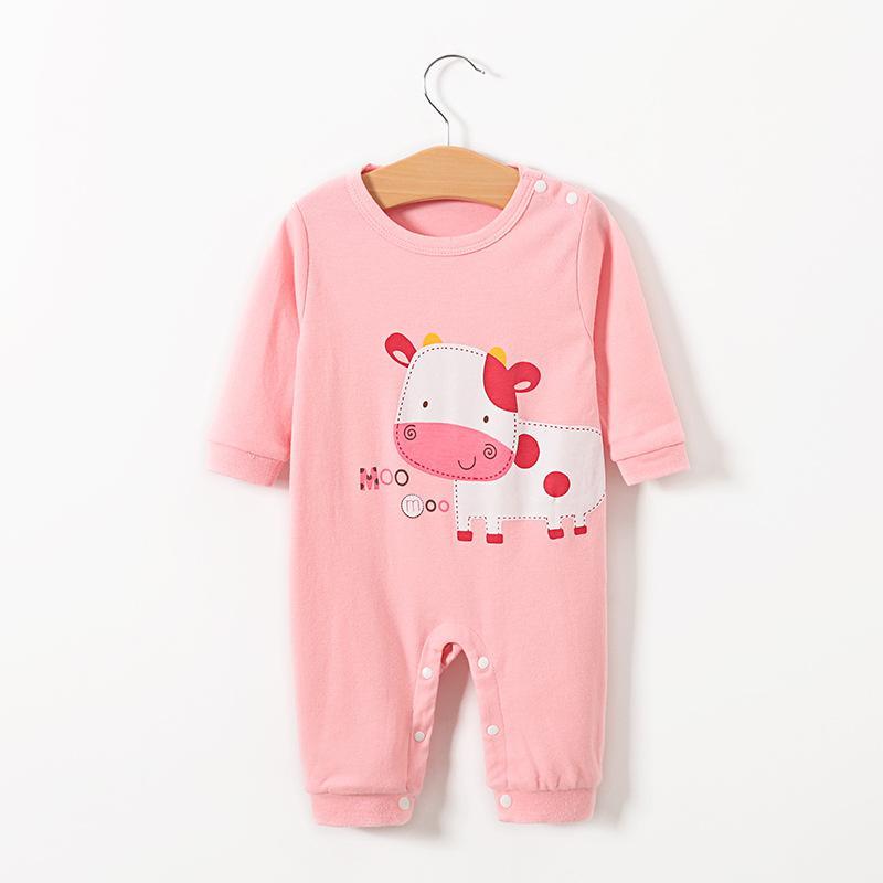 Nouveau bébé confortable Jumpsuit Printemps et Automnes Accueil Casual Cute Baby Romper Romper gros