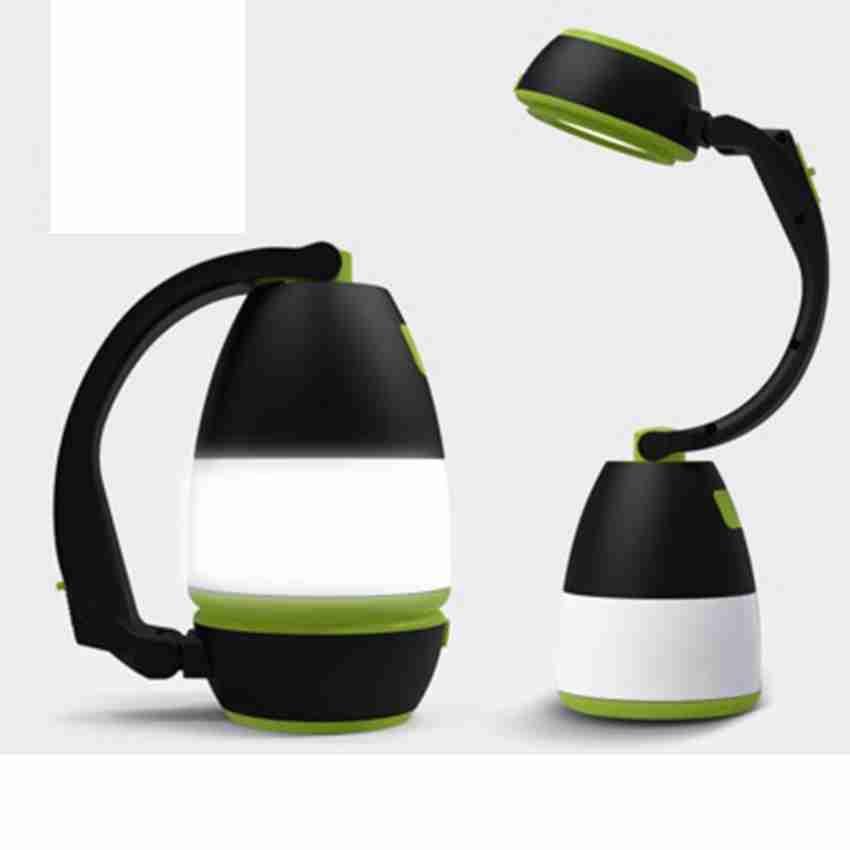 Lâmpadas de mesa multifuncional 3 em 1 Tent Lâmpada LED Camping Lâmpada Luz de emergência Início USB recarregável portátil Lanternas ZZA2336