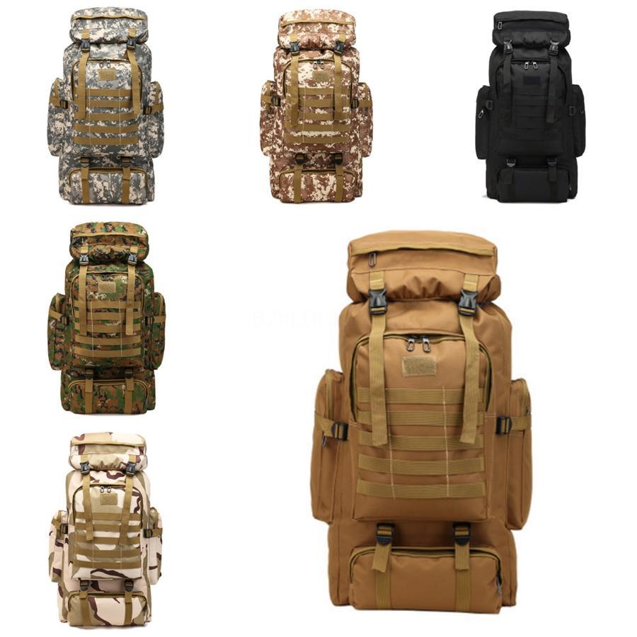 Sac à dos Randonnée Camping 3P militaire Sac à dos Voyage tactique Sacs à dos Camouflage extérieur Sacs de rangement de grande capacité Sac à dos Yp4 # 38605