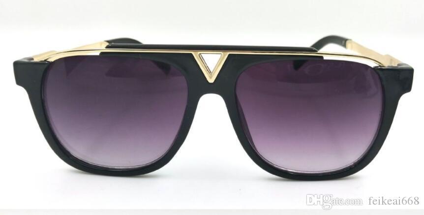Son satış popüler moda erkekler tasarımcı güneş gözlüğü 0937 kare plaka metal kombinasyonu çerçeve en kaliteli uv400 lens marka delil