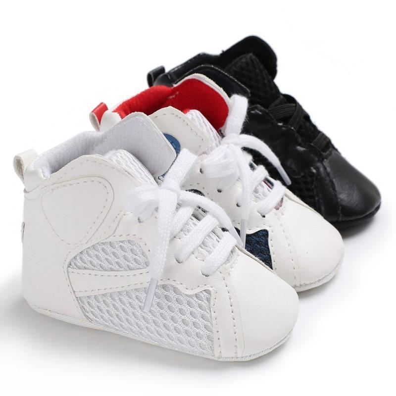 Scarpe WEIXINBUY bambino del bambino Neonati Scarpe Bebek AYAKKABI neonati primi camminatori della tela di canapa della scarpa da tennis