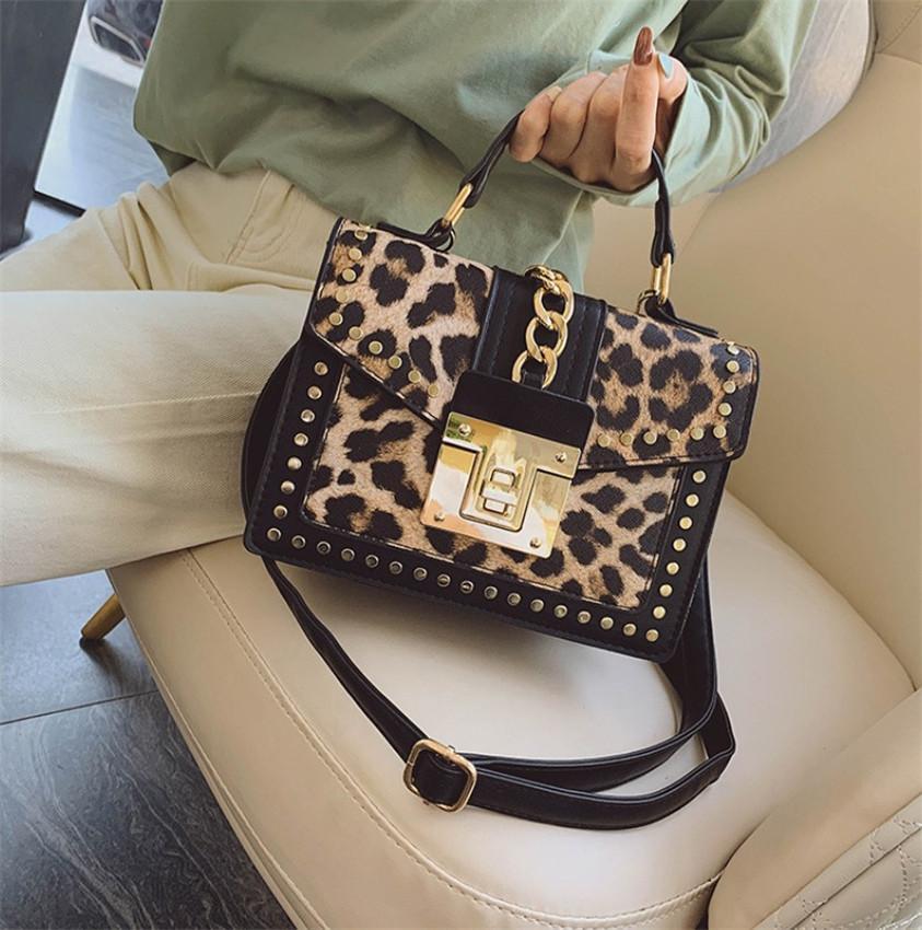 Leopard шаблон Новый стиль женщин Мода печати женщин сумка плеча Универсальный Сумка PH-CFY20052553