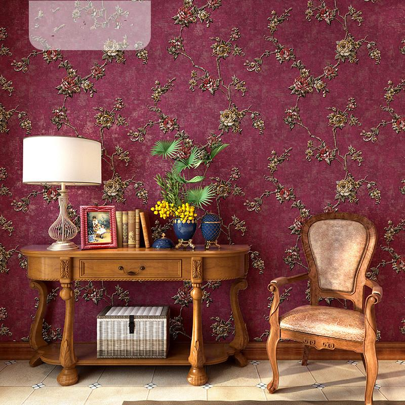 kırsal çiçek dokunmamış yaşayan Retro yatak odası arka plan duvar ev küçük taze duvar kağıdı duvar kağıdı Yüksek kaliteli Amerikan ülkesi