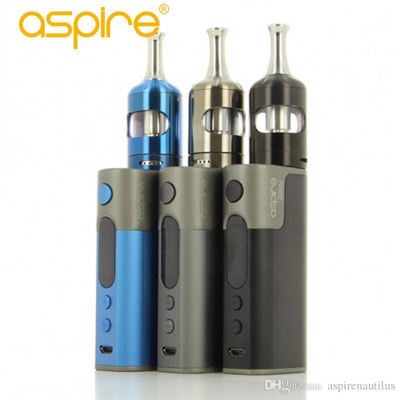 Wholesale e cigarettes vape aspire zelos 2.0 kit 50w with 2500mah internal battery blue/grey/black vape kit 100% Original