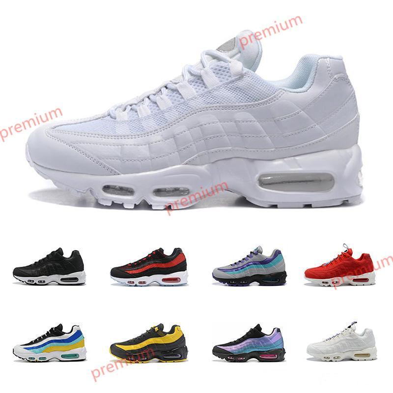 Nike Max 95 Hococal yeni varış erkekler kadınlar için koşu ayakkabıları Whosale Aqua Lazer Fuşya neon üçlü beyaz SE erkek Hococal spor sneakers