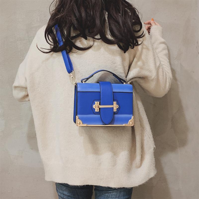 Designer-2019 dames de patchwork de haute qualité Petit sac paquet carré sacs de mode dames sac à bandoulière sac à rayures Mode gaoer / 1
