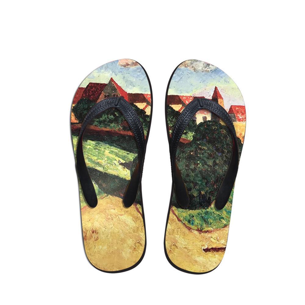 Нового прибытие женщины лето пляж Тапочки Повседневная Удобная обувь Мода Повседневная Круглый Toe Открытая обувь Женских Вьетнамки Главный