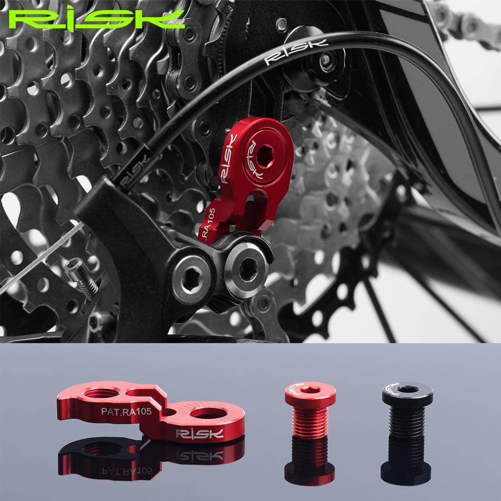 Risk Bicycle Rear Shifter Converter Extention MTB Road Bike Rear Derailleur Hanger Frame Tail Hook Extension For 32~52T Flywheel