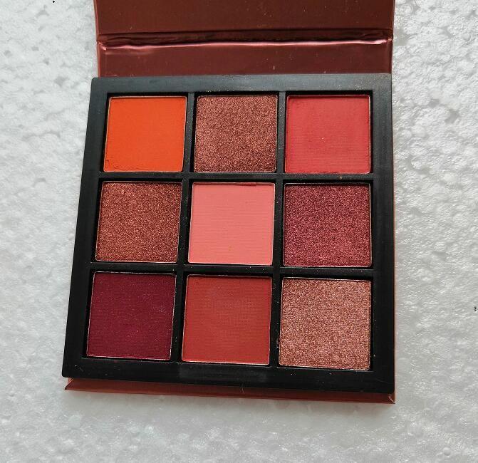 Cmaadu 9color Makeup Palette Sombra Diamante Eye sombra Shimmer Sombra definir 5 estilos Eye Makeup