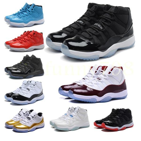 2019 melhor qualidade 11 Mens 11 s Sapatos de Basquete Mulheres Concord homens 45 Platinum Designer cestas Sports Formadores chaussures Sneakersfa16 #
