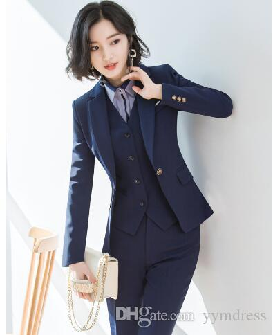 Special Link For Corey Williams Women Suit Wear Wedding Tuxedos Suits 2019 Grey Business Suit Jacket Pants Vest Black And White Formal Attire Black And White Tuxedos From Yymdress 61 03 Dhgate Com