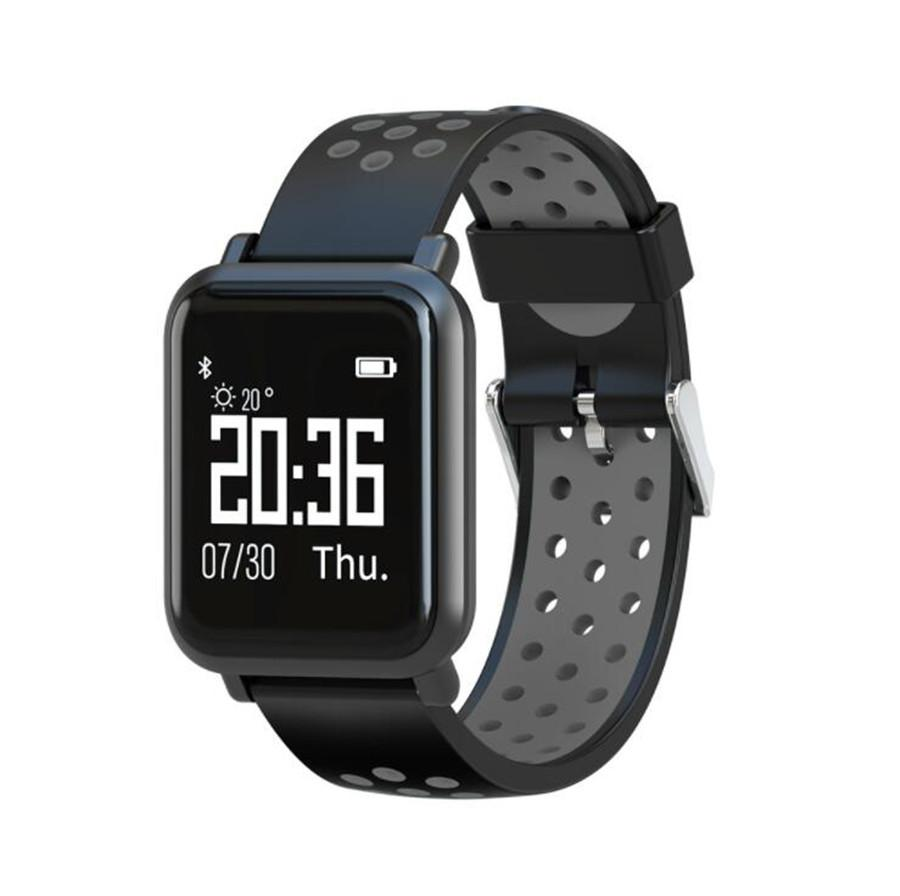 HOT SN60 color screen Bluetooth support SIM, TF card IP68 waterproof heart rate oximetry sleep monitoring camera sports smart watch bracelet
