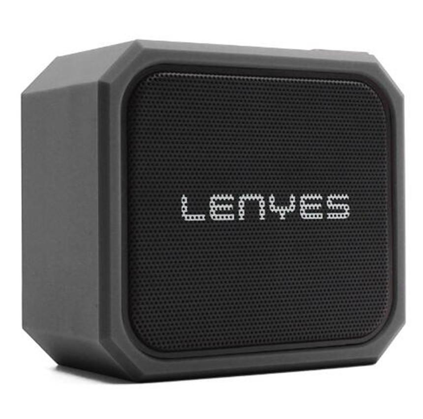 Lenyes 5W 야외 우퍼 TWS 블루투스 무선 스피커 IPX7 휴대용 소형 음악 플레이어 상자 TF SD 카드 저음 스피커 S105