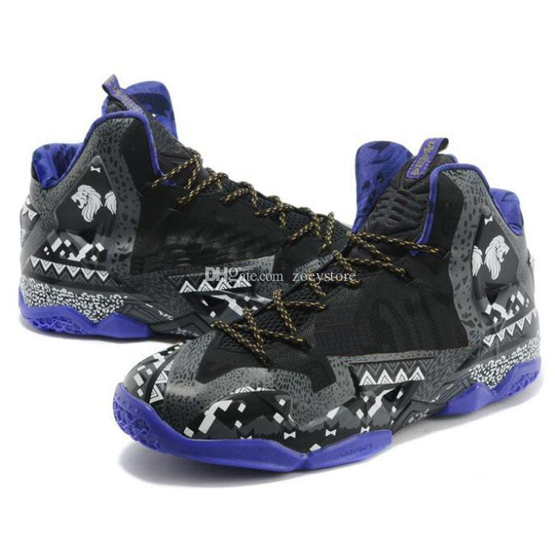 new product d3087 7d94a 2019 Mens Lebron 11 Basketball Shoes BHM Team Red Bred Floral Flower Wolf  Grey South Beach Black Blue Gold Sneakers Tennis From Zoeystore, $28.2 | ...