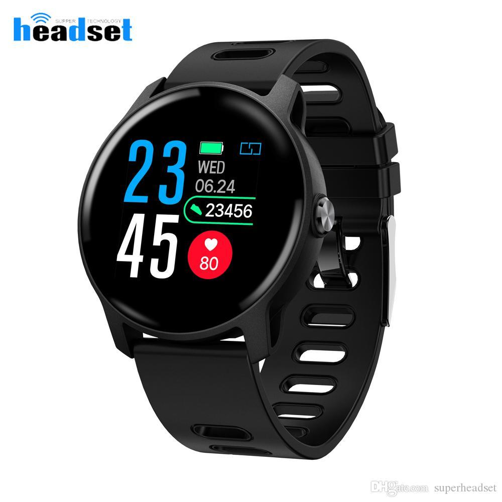 S08 Смарт часы водонепроницаемый монитор сердечного ритма артериального давления Спорт SmartWatch для Android IOS телефона носимых устройств
