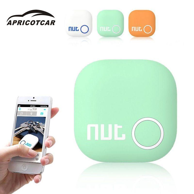 2017 d'origine Nut 2 Locator GPS Bluetooth Tracer Tag Alarme Porte-clés Sac Dog Tracker Finder 3 couleurs avec sangles