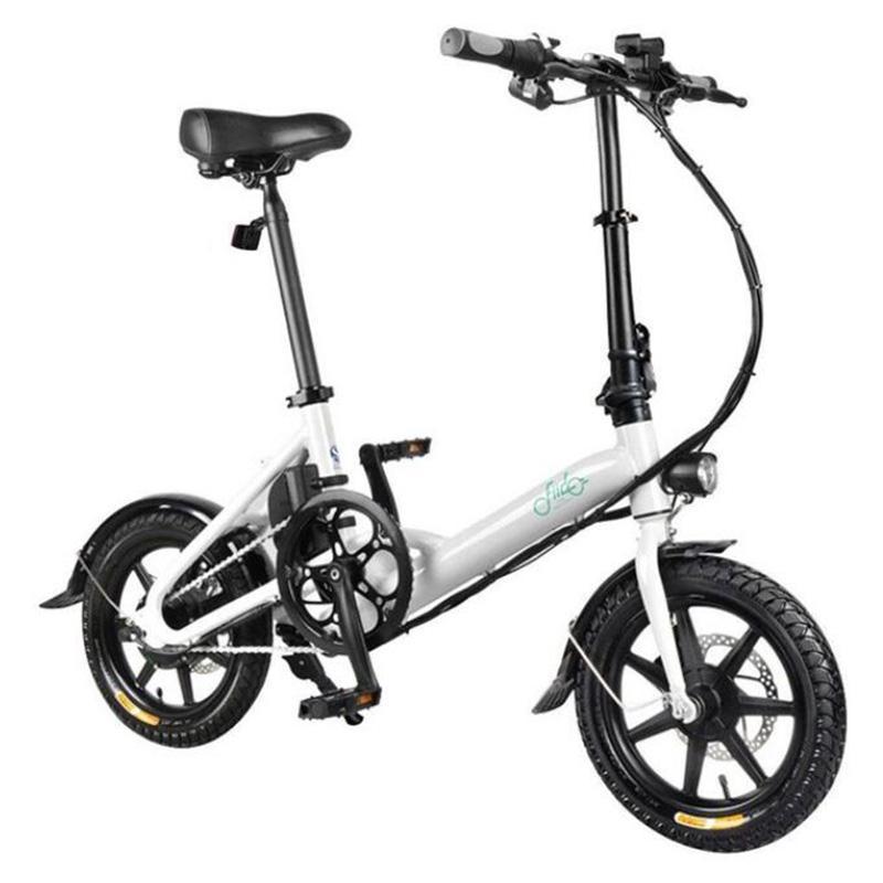 ЕС Корабль FIIDO D3 / D3S велосипед Перемена Версия 36V 7.8Ah 300W Электрический велосипед 16inches Складной мопед велосипед 25 км / ч Электрический велосипед