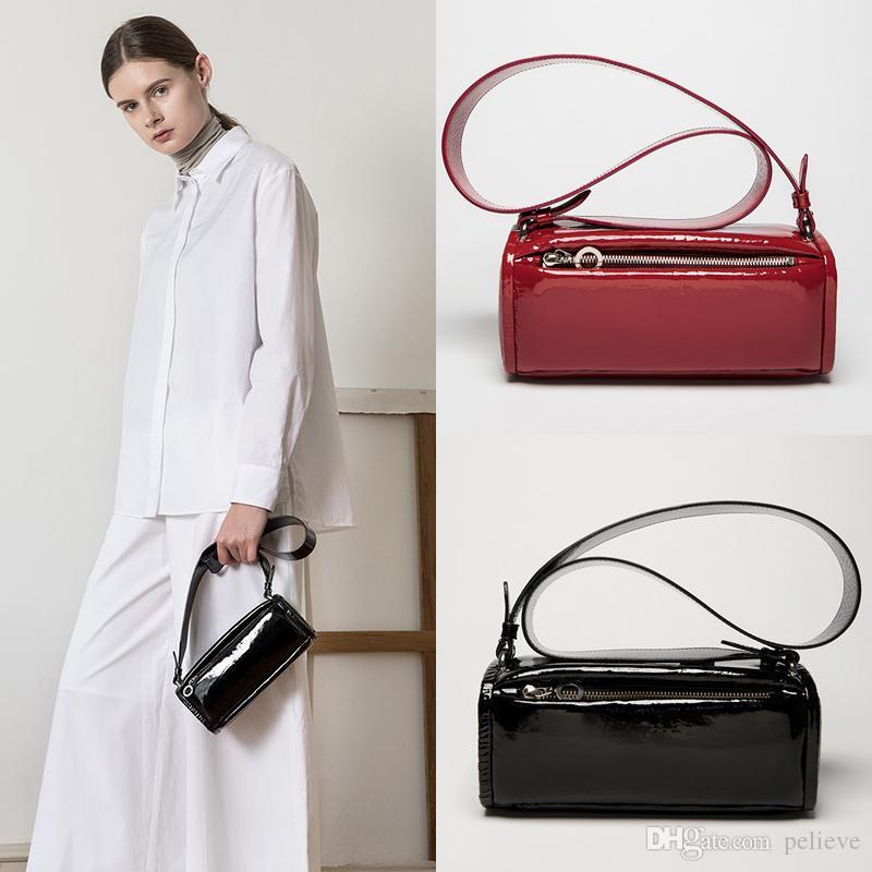 Las mujeres de la correa de hombro ancho Bolsa de moda de alta calidad de Crossbody bolsos del mensajero del diseñador de la PU bolso de cuero Mujer Bolsa Bolsa