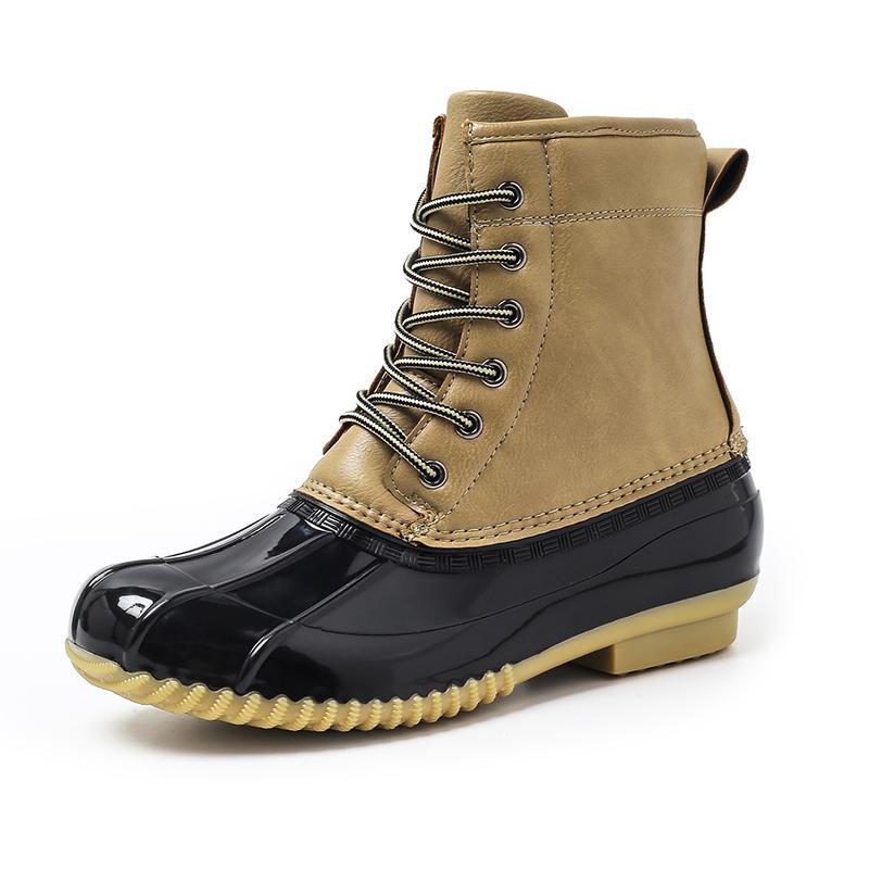 Classique bottes de chasse de canard américains pour les hommes et les femmes bottes imperméables imperméable neige moto pour toutes les saisons