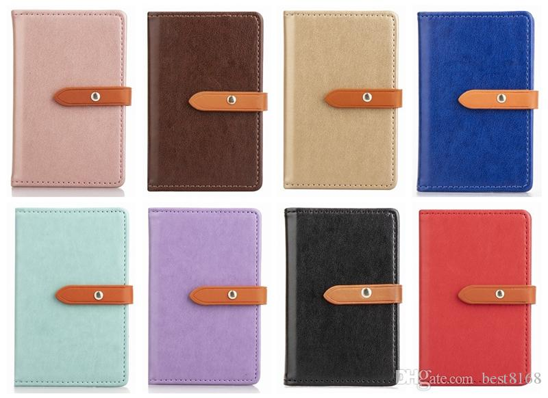 Universal Back Phone Card Slot 3M Sticker Leather For Iphone 11 XR P30 S10 Pouch Jean Hybrid Stick On Wallet Cash ID Credit Card Holder Case