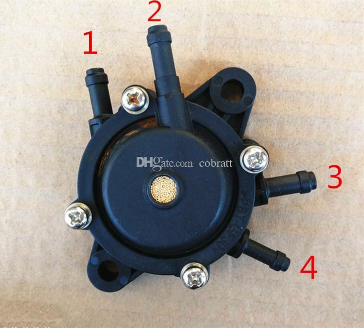 Fuel Pump 4 hole for HONDA 16700-Z0J-003, KAWASAKI 49040-7001 engine motor replacement