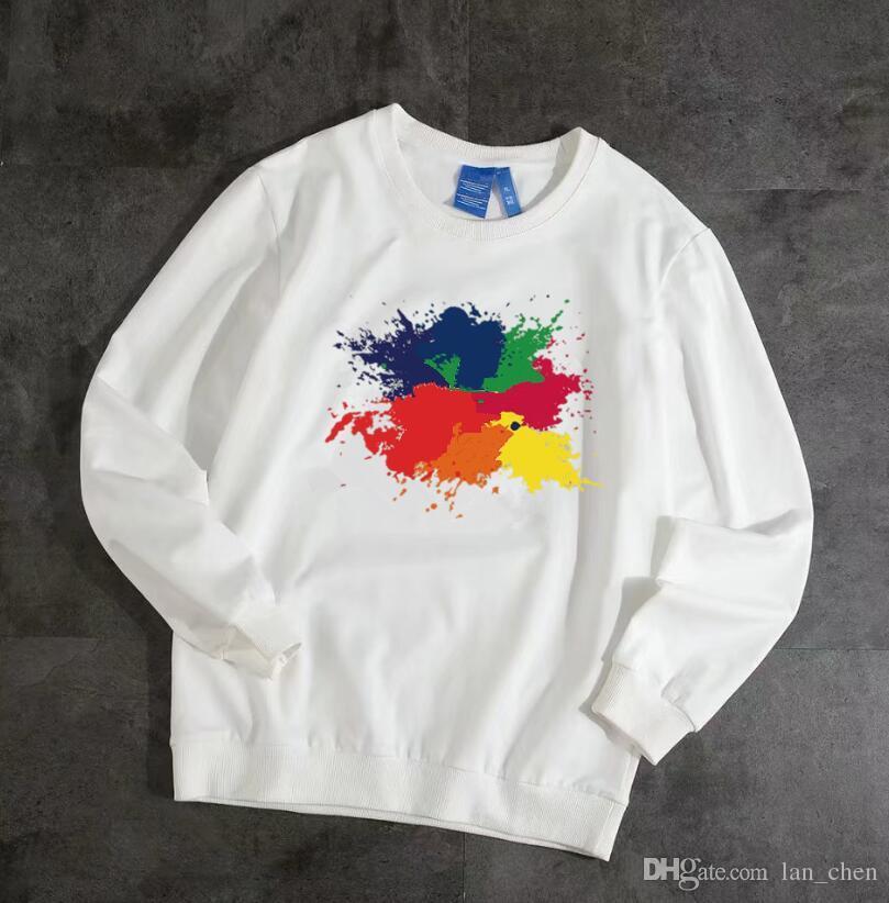 Tasarımcı Erkekler Hoodie Sweatershirt Kazak Erkek Hoodies Giyim Ince Uzun Kollu Gençlik Hareketleri Marka Streetwear Hızlı Kargo