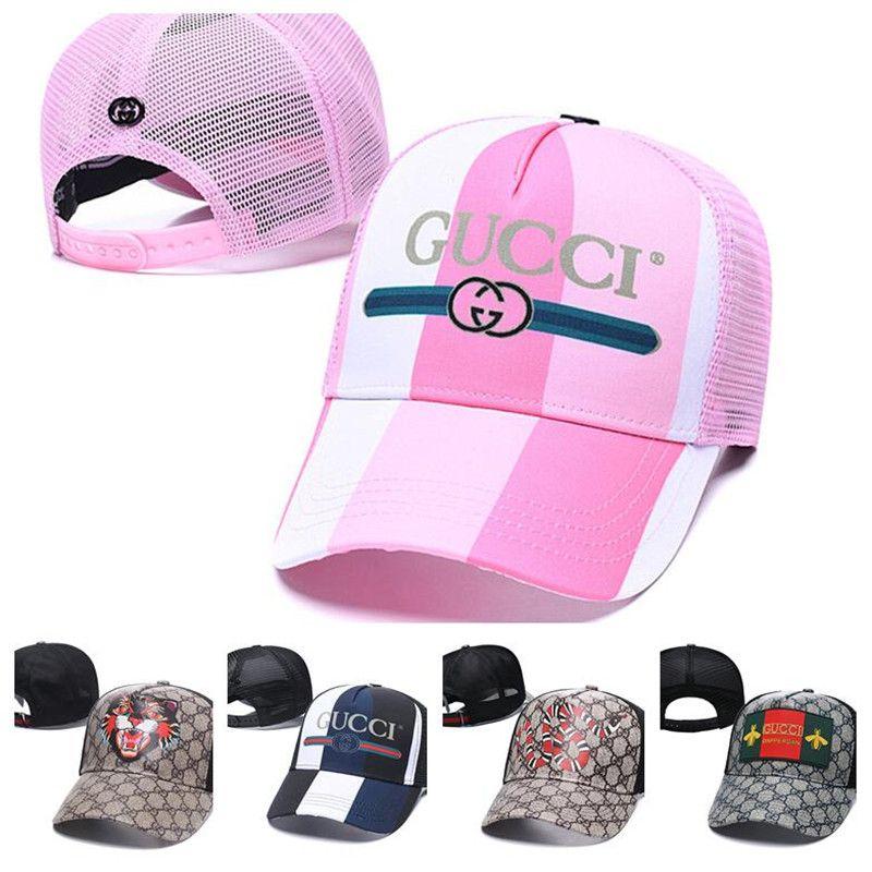 2020 neue hochwertige marke designer hüte kappen männer frauen mode mesh atmungsaktiv baseballmütze wild casual ins hip hop cap
