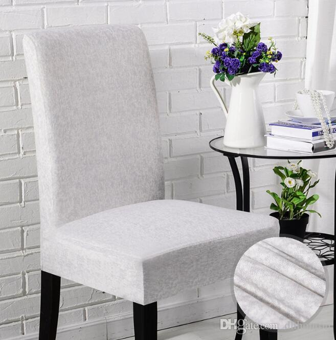 Strange Plain Linen Chair Covers Universal Size Simple And Short Family Hotel Computer Dining Chair Elastic Wedding Chair Covers Dining Chairs Covers For Sale Pdpeps Interior Chair Design Pdpepsorg