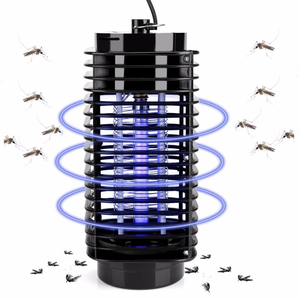 Electric Led Photocatalyst Fly Bug Insect Killer Trap Lamp Anti Mosquito Repellent Eu Us Plug C19041901