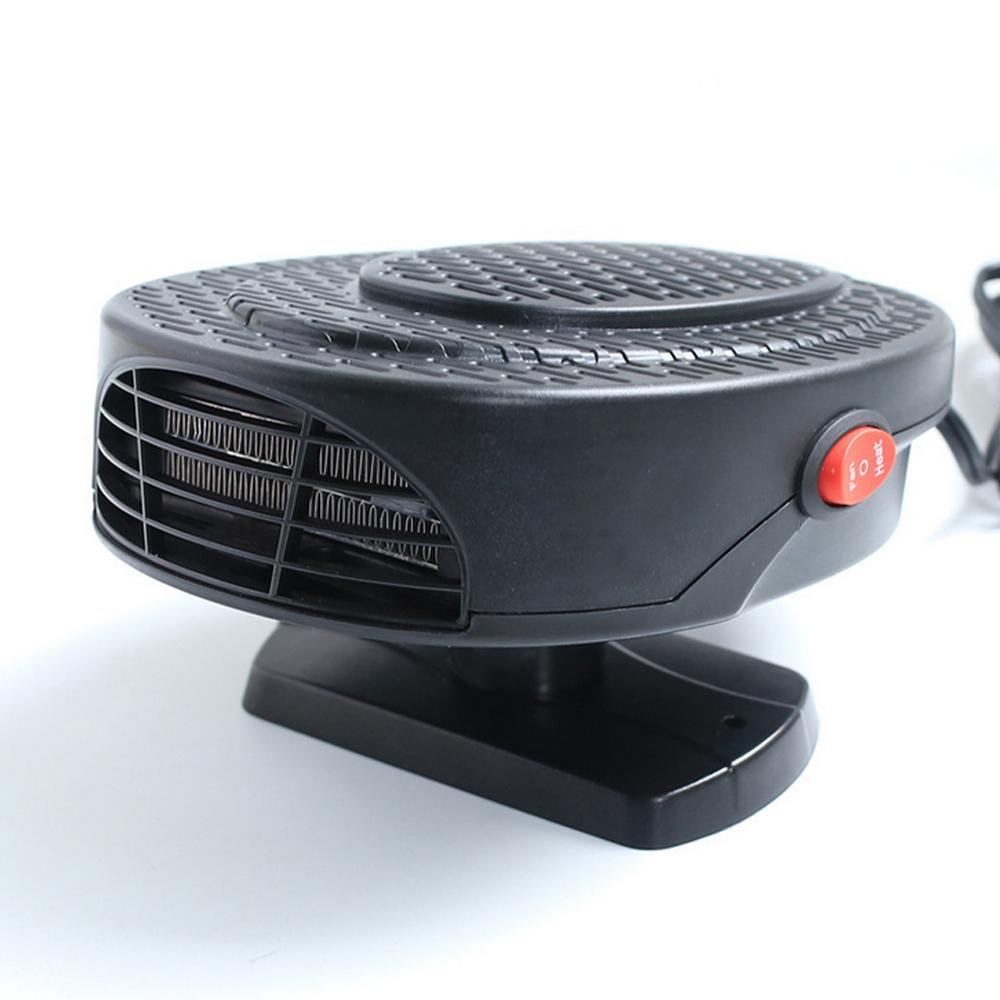 12 V 150 W Auto Car Heater Portatile 2 in 1 Riscaldamento Ventola di raffreddamento Car Dryer Parabrezza Sbrinatore Demister rapido Defogger