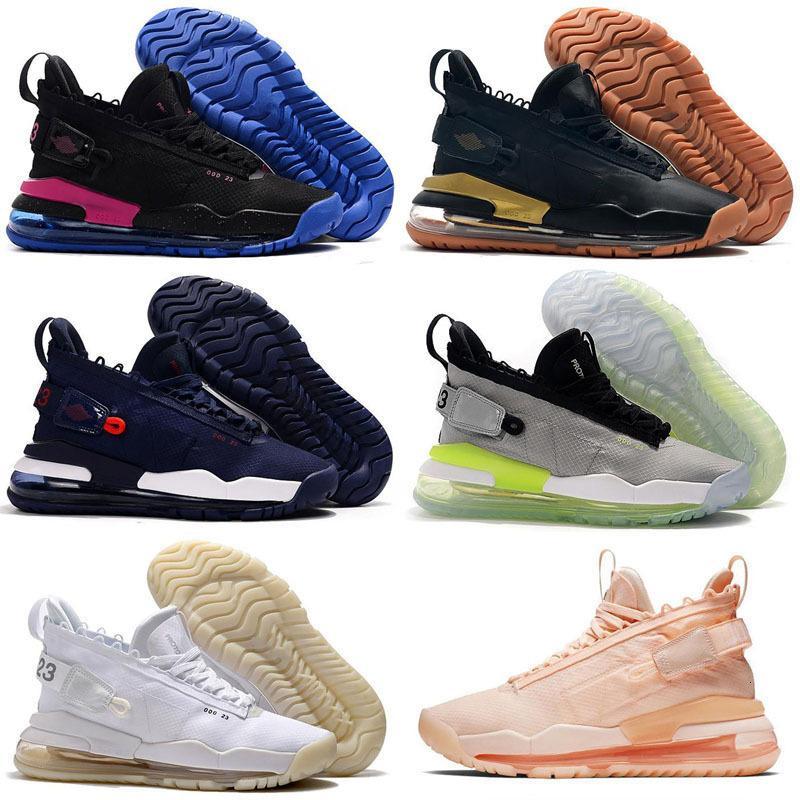 2020 الجديد Jumpman 23 × رجالي بروتو 72C في الأرجواني ورويال 720s في نيون الخضراء وأحذية الأزرق ريترو اطفال الرياضة احذية كرة السلة