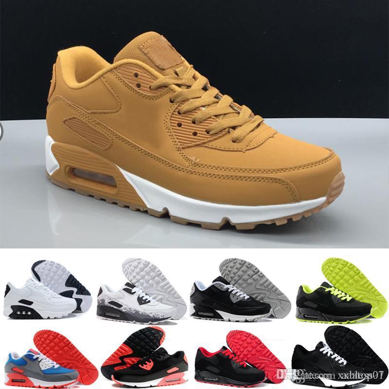 Erkekler Sneakers Ayakkabı Klasik erkek ve kadın ayakkabı Spor Eğitmeni Hava Yastık Yüzey Nefes Spor Ayakkabıları 36-45 Y523L