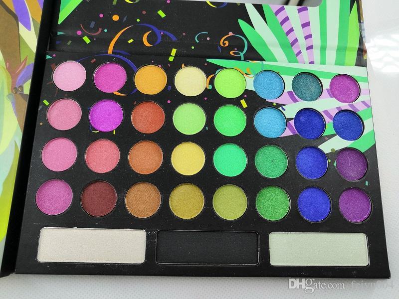2018 Nouvelle 35 ombre à paupières couleur TAKE ME BACK TO BRÉSIL EYESHADOW palette instock Livraison gratuite
