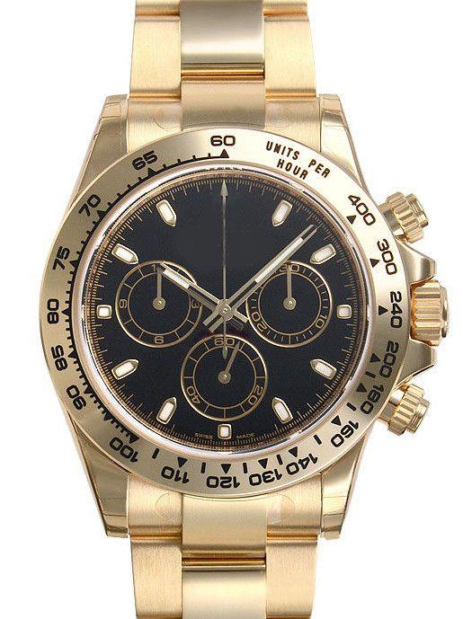 Fabriklieferant Qualität Uhr 116.555 Asian 2813 Automatik-Uhrwerk Saphir Edelstahlband Herrenuhr Watchs