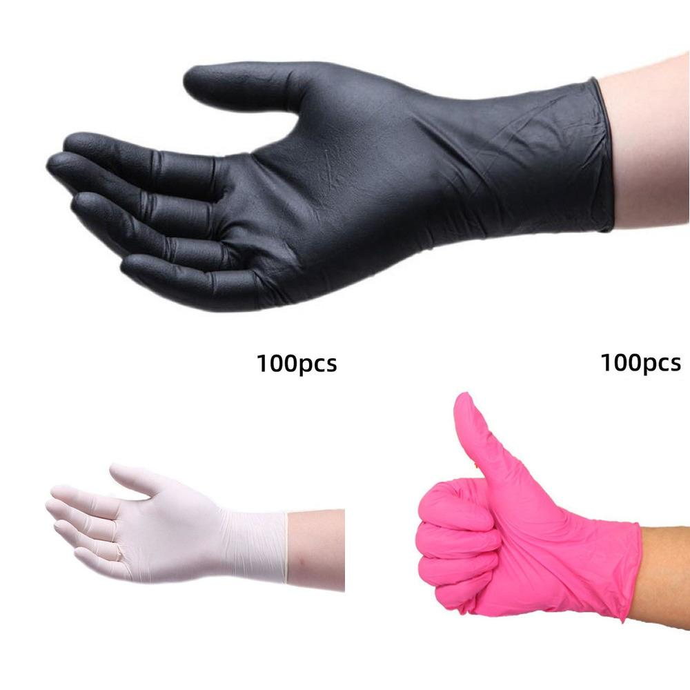 Disposable Working Nitrile Repair 100pcs Hand Anti-oil Car Universal Kitchen/dishwashing/w 470I6
