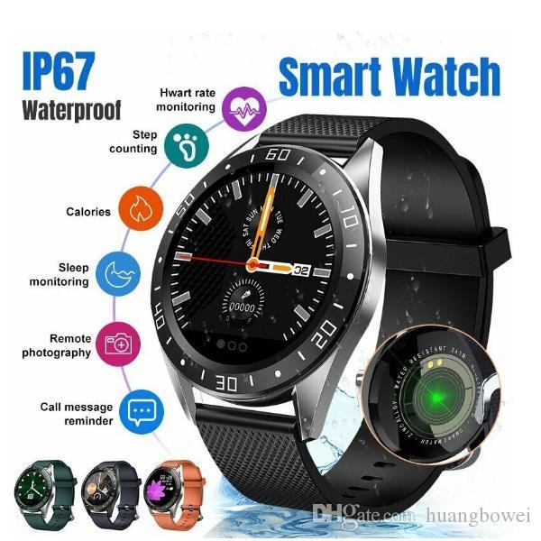 Smart Watch GT105 Waterproof IP68 Heart Rate Monitor Fitness Water Sleep Monitor Color Screen Sport Smartwatch Men Women