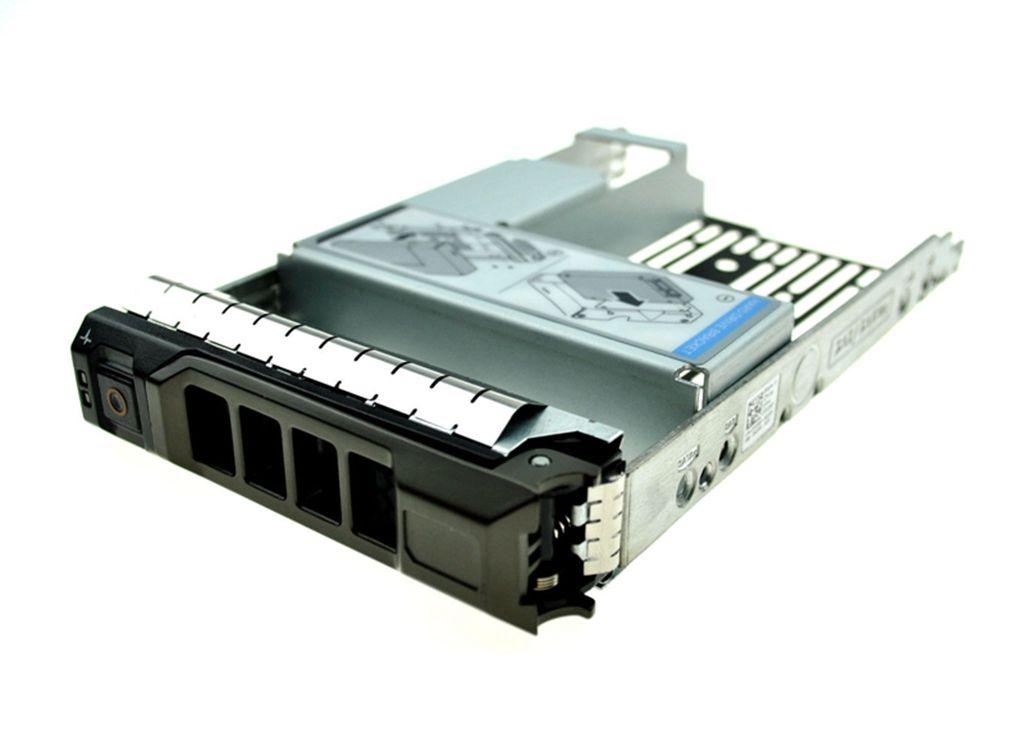 """Vassoio per disco rigido SAS / SATA da 3,5 """"con supporto HDD SAS SSD adattatore da 2,5"""" per server Dell Poweredge R320 R420 T620"""