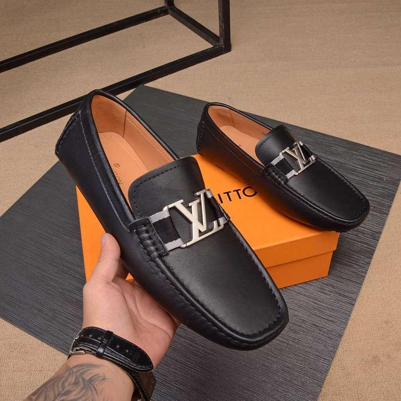 cómodos zapatos planos del verano moda casual 2020 de los hombres de los hombres respirables 121501
