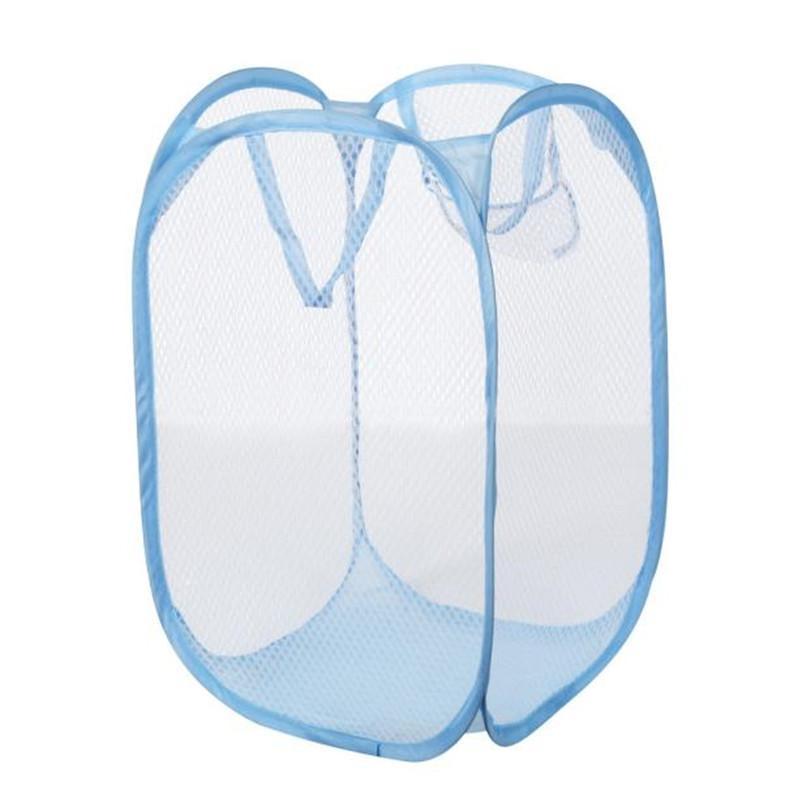 سلال طوي يطفو على السطح التخزين الغسيل الملابس سلة الغسيل حقيبة تعوق شبكة التخزين سلة للألعاب cesto روبا sucia # BL1