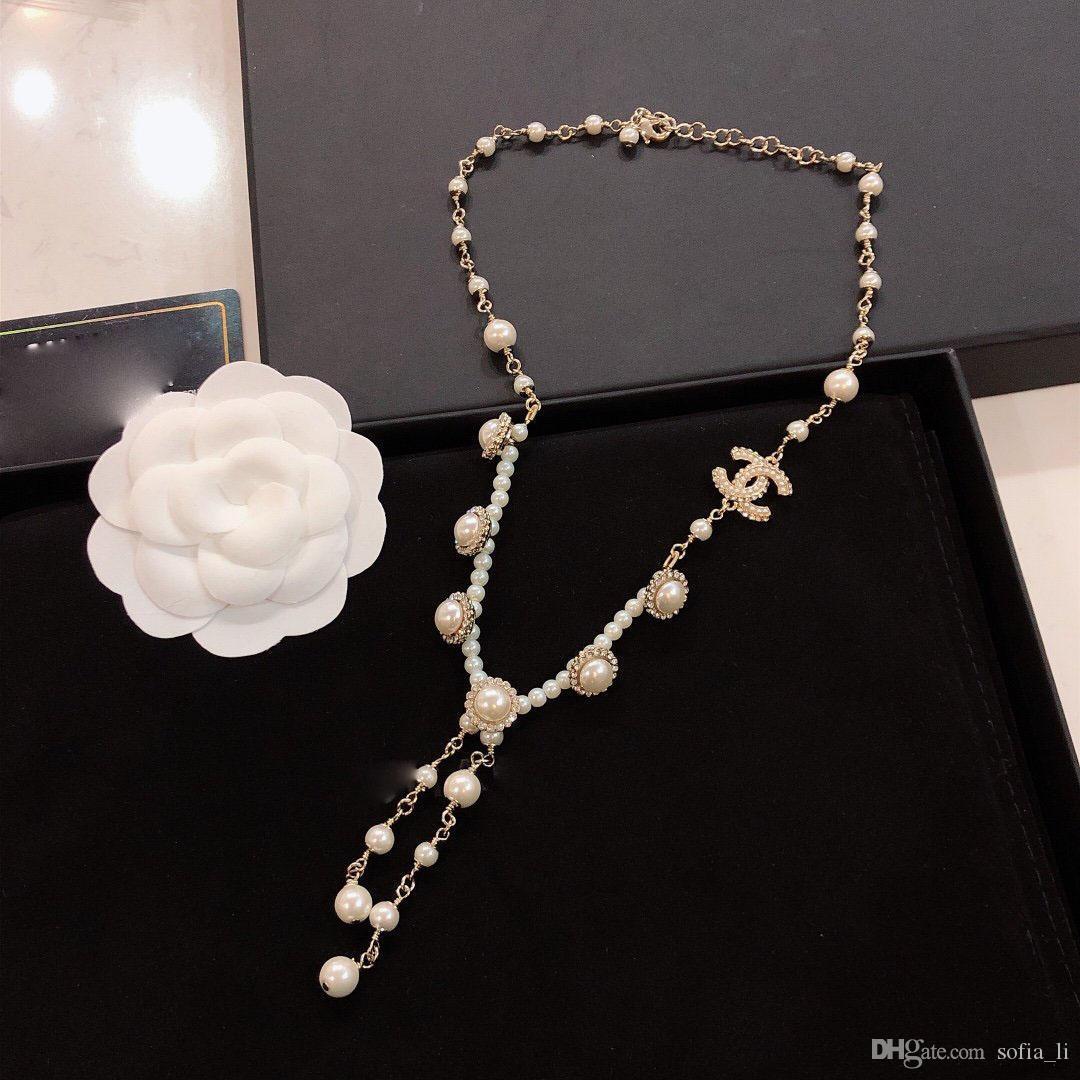 Klasik kolye tasarımcısı kadın kolye lüks küpe bilezik mens 14k altın zincirler Küba bağlantı zinciri seviyorum çaldığında