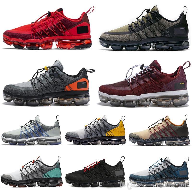 Nike Air Vapormax Run Utility Moda run programı erkekler kadınlar koşu ayakkabı üçlü beyaz CNY Lazer Fuşya Tropikal Büküm erkek eğitmen nefes spor sneakers