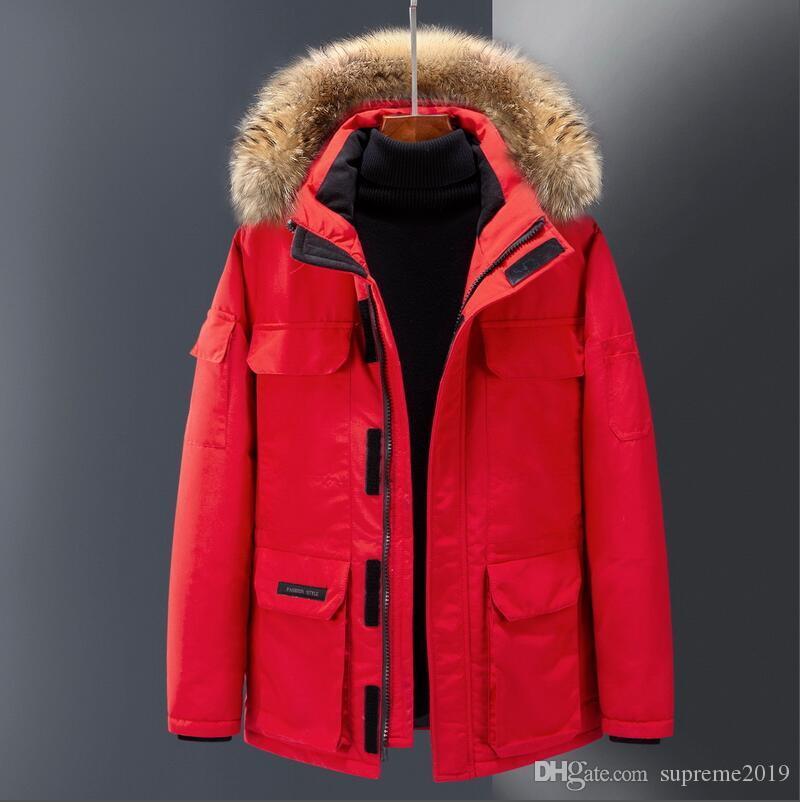 2019 Luxe Canada Down Jacket Mens Veste d'hiver Homme BMS Deisgner Femmes Haute Qualité Canada Veste d'hiver Manteaux Manteaux d'hiver Designer